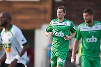 Fotball<br /> 21. Juli 2014<br /> 1. divisjon<br /> Ågotnes gress<br /> Nest-Sotra - Hønefoss<br /> Ørjan Hopen (M) , på lån til Nest-Sotra fra Sogndal <br /> Foto: Astrid M. Nordhaug