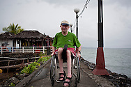 North Sulawesi, Indonesia, January 2014.<br /> This project follows the challenges that Alan faces in order to go diving and reach that place, below the surface—where physical rules are rewritten, perception is turned quite literally upside down, the human form is rendered weightless—and where we are all, as we should be, rendered equal. © Chiara Marina Grioni