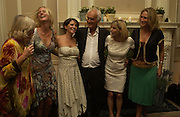 Mrs. Rodney Shields, Daisy Shields, Sadie Frost, rodney Shields, Jemima French, and Lucy Paul. Franc Roddam and Frost French host a party to celebrate the publication of ' Margarita's Olive Press' by Rodney Shileds. 1 Greek St. Soho Sq. London. 15 September 2005.  ONE TIME USE ONLY - DO NOT ARCHIVE  © Copyright Photograph by Dafydd Jones 66 Stockwell Park Rd. London SW9 0DA Tel 020 7733 0108 www.dafjones.com