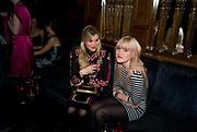 EMERALD FENNELL; COCO FENNELL, The Tatler Little Black Book party. Tramp. 40 Jermyn St. London SW1 *** Local Caption *** -DO NOT ARCHIVE-© Copyright Photograph by Dafydd Jones. 248 Clapham Rd. London SW9 0PZ. Tel 0207 820 0771. www.dafjones.com.