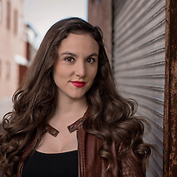 Actress Johannh Winkle poses for a portrait in downtown Wilmington, N.C.