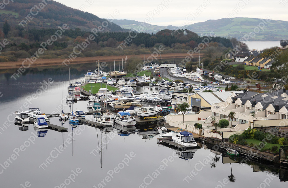 27/11/07<br />An aerial view of Shoreline, a 60 million Euro investment in Lough Derg Marina. Pic Sean Curtin Press 22.<br /><br />*********Pics with compliments****