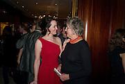 CATHERINE BLYTHE; GERMAINE GREER, Catherine Blythe. ' The Art Of Conversation.' Book launch. Ralph Lauren. New Bond St. London. 4 November 2008.  *** Local Caption *** -DO NOT ARCHIVE-© Copyright Photograph by Dafydd Jones. 248 Clapham Rd. London SW9 0PZ. Tel 0207 820 0771. www.dafjones.com.