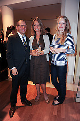 Left to right, JONATHAN NEWHOUSE, SABRINA GUINNESS and ALICE ROTHSCHILD at a party to celebrate the B.zero 1 design by Anish Kapoor held at Bulgari, 168 New Bond Street, London n 2nd June 2010.