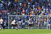 Football - 2019 / 2020 Sky Bet (EFL) Championship - Cardiff City vs. Middlesbrough<br /> <br /> Paddy McNair of Middlesbrough  shoots over the cardiff wall from a free kick, at the Cardiff City Stadium.<br /> <br /> COLORSPORT/WINSTON BYNORTH