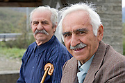 Greece, Macedonia, old local men at leisure