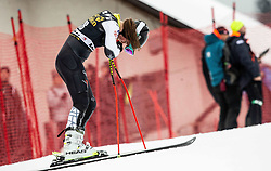 HURT A J of United States reacts during the 6th Ladies'  GiantSlalom at 55th Golden Fox - Maribor of Audi FIS Ski World Cup 2018/19, on February 1, 2019 in Pohorje, Maribor, Slovenia. Photo by Vid Ponikvar / Sportida