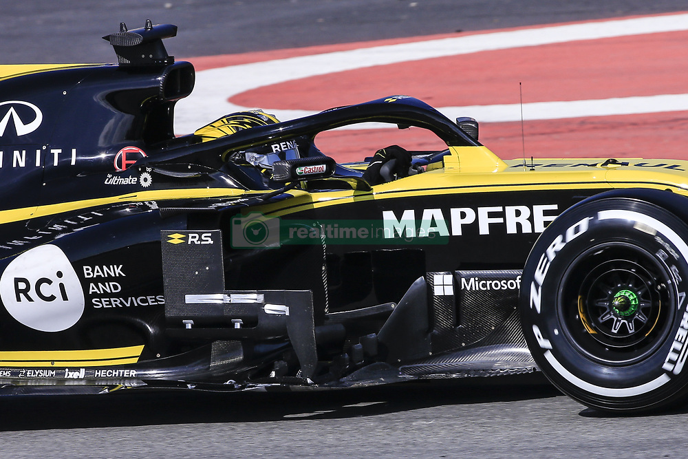 February 18, 2019 - Barcelona, Barcelona, Spain - Nico Hulkenberg from Germany with 27 Renault F1 Team RS19 in action during the Formula 1 2019 Pre-Season Tests at Circuit de Barcelona - Catalunya in Montmelo, Spain on February 18. (Credit Image: © Xavier Bonilla/NurPhoto via ZUMA Press)