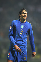 "Modena (Italia) 21/11/2007 Stadium ""Braglia"" Euro2008 qualification Group B Italia-Far Oer.<br /> Luca Toni<br /> 13 Ottobre 2007. Italia Far Oer - Italy Far Oer 3-1.<br /> Photo by Gianni Nucci/Insidefoto"