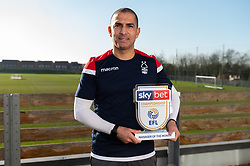 Sabri Lamouchi wins the Sky Bet Manager of the month - Mandatory by-line: Dougie Allward/JMP - 06/02/2020 - FOOTBALL -  - Nottingham, England - Sky Bet Championship MOTM