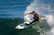 Surfers at Steamers Lane, Lighthouse State Beach, West Cliff Drive, Santa Cruz, California