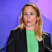 Beatrice Simonsson of Volvo is the winner of the Women world car of the year, award presentation at the London Motor & Tech Show opening day on 16 May 2019, at Excel London, UK.