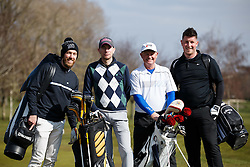 Scott Wagstaff joins team Johnson Says as they take part in the Bristol City charity Golf day, in aid of Childrens Hospice South West - Mandatory byline: Rogan Thomson/JMP - 16/03/2016 - GOLF - Henbury Golf Club - Bristol, England - Bristol City Charity Golf Day.