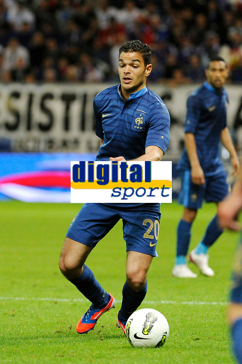FOOTBALL - FRIENDLY GAME 2012 - FRANCE v SERBIA - REIMS (FRANCE) - 31/05/2012 - PHOTO JEAN MARIE HERVIO / REGAMEDIA / DPPI - HATEM BEN ARFA (FRA)
