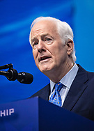 John Cornyn speaks at the NRA-ILA Leadership Forum during the NRA Annual Meeting & Exhibits on <br /> May 4, 2018 in Dallas, Texas at the Kay Bailey Hutchison Convention Center.