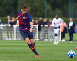 October 3, 2018 - London, England, United Kingdom - Enfield, UK. 03 October, 2018.Joan Rojas of FC Barcelona.during UEFA Youth League match between Tottenham Hotspur and FC Barcelona at Hotspur Way, Enfield. (Credit Image: © Action Foto Sport/NurPhoto/ZUMA Press)