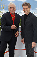 Director Abel Ferrara and Actor Willem Dafoe at Tommaso film photo call at the 72nd Cannes Film Festival, Monday 20th May 2019, Cannes, France. Photo credit: Doreen Kennedy