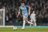 Jesús Navas (Manchester City) runs with the ball during the Champions League match between Manchester City and Celtic at the Etihad Stadium, Manchester, England on 6 December 2016. Photo by Mark P Doherty.