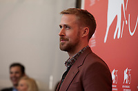 Actor Ryan Gosling at the photocall for the film First Man at the 75th Venice Film Festival, on Wednesday 29th August 2018, Venice Lido, Italy.