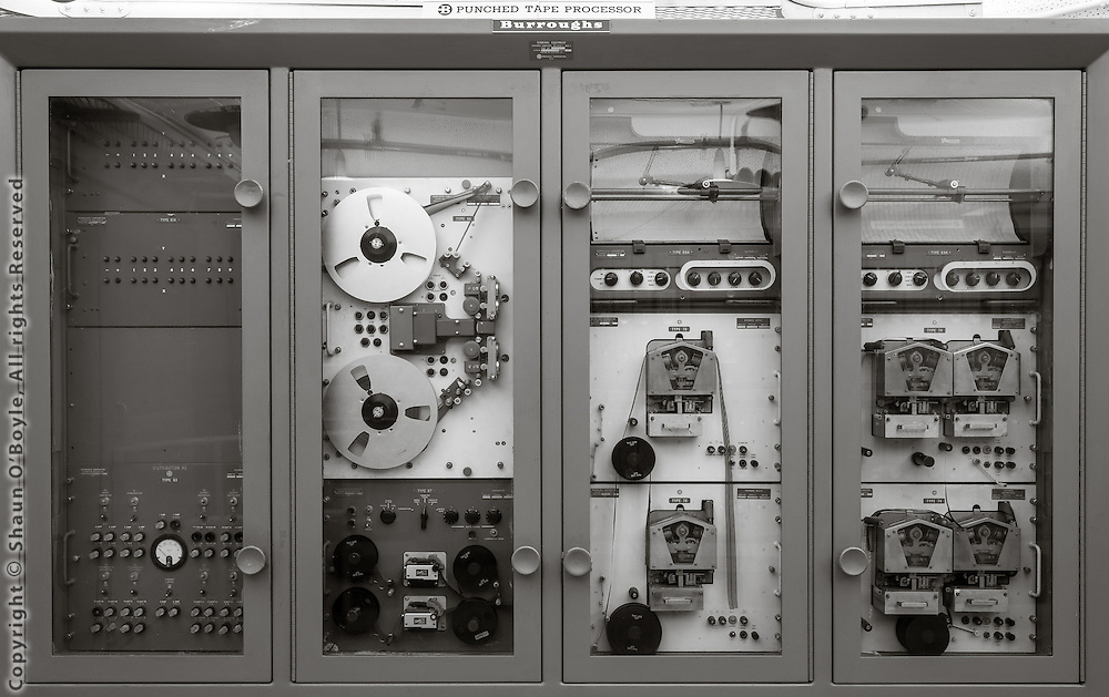 Burroughs Punched Tape Processor