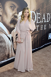 May 14, 2019 - Los Angeles, CA, USA - LOS ANGELES - MAY 14:  Jade Pettyjohn at the ''Deadwood'' HBO Premiere at the ArcLight Hollywood on May 14, 2019 in Los Angeles, CA (Credit Image: © Kay Blake/ZUMA Wire)