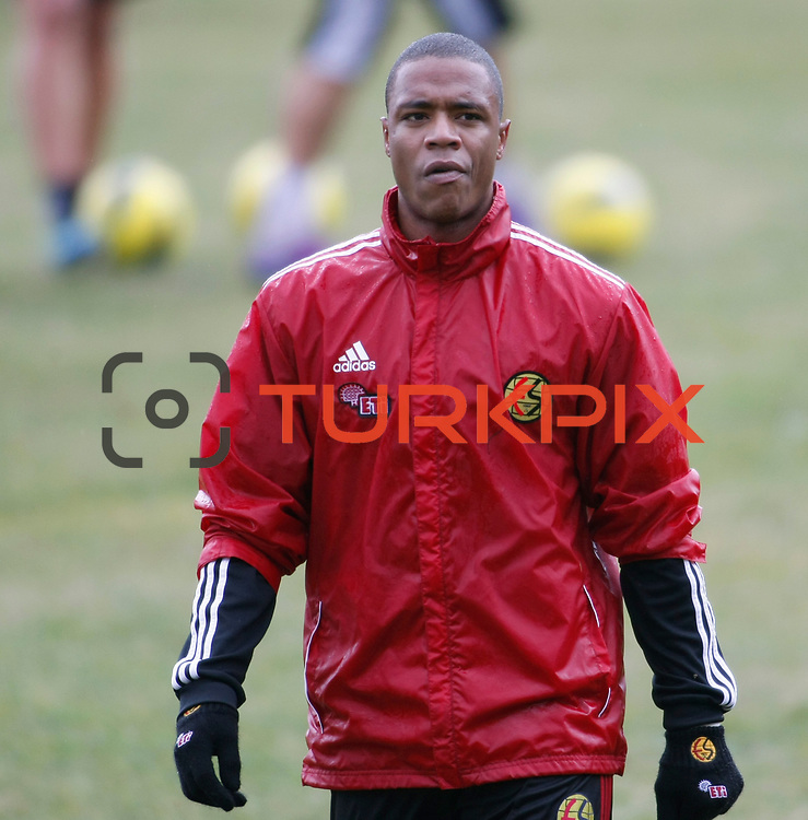 Eskisehirspor's Vitor Hugo Gomes Passos during their Turkey Cup matchday 3 soccer match Eyupspor between Eskisehirspor at Eyup Stadium in Istanbul Turkey on Wednesday, 11 January 2012. Photo by TURKPIX