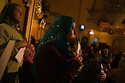 Students listening as Amr Khaled, an Islamic televangelist, addresses his followers at a Life Makers gathering inside a local wedding hall, Alexandria, Egypt, Dec. 23, 2005. Khaled had previously been asked to leave Egypt as his revival gained strength. As a result he started preaching on several television shows, turning him into an international celebrity.
