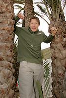 Håndball VM, Tunis 2005, Sousse 24/01-05, <br />Pressetreff på hotellet til det Norske landslaget Sol Club Contanoi, Jonny Jensen er stor og sterk og dermed veldig viktig i de kommende kampene for Norge,<br /> Foto: Sigbjørn Andreas Hofsmo, Digitalsport