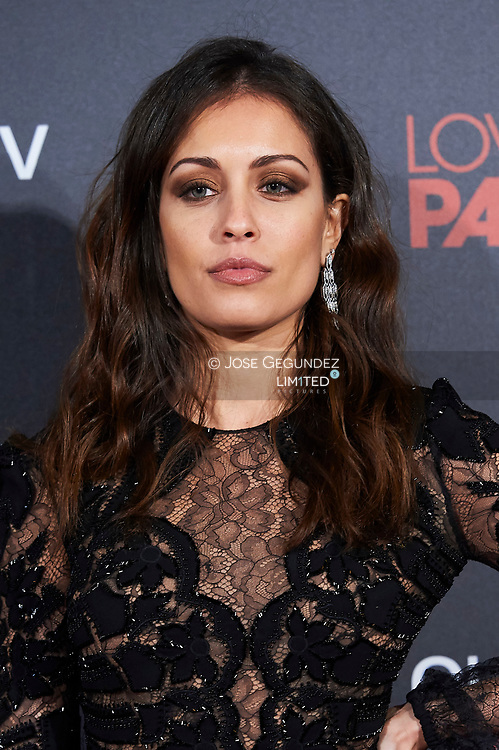 Hiba Abouk attends 'Loving Pablo' Premiere at Callao Cinema on March 7, 2018 in Madrid, Spain