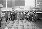 1967 - Group of Russians arrive in Dublin for Irish holiday