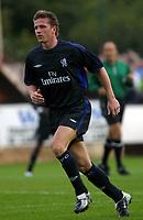 Fotball. 05.08.2002.<br /> Chelsea v Aldershot.<br /> Emmanuel Petit, Chelsea.<br /> Foto: David Price, Digitalsport