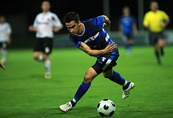 Mladen Kovacevic of Gorica during 2nd match of 1st round Intertoto Cup soccer match between ND Gorica and Hibernians FC at Sports park, on June 28,2008, in Nova Gorica, Slovenia. (Photo by Vid Ponikvar / Sportal Images)