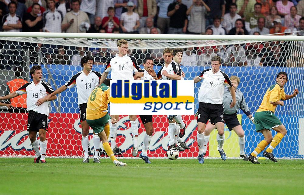 Fotball, 15. juni 2005, Confederations Cup , Tyskland - Australia Her scorer Josip Skolo Australia