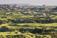 Badlands view, Theodore Rossevelt National Park, North Dakota