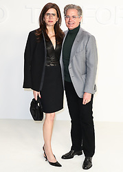 HOLLYWOOD, LOS ANGELES, CALIFORNIA, USA - FEBRUARY 07: Tom Ford: Autumn/Winter 2020 Fashion Show held at Milk Studios on February 7, 2020 in Hollywood, Los Angeles, California, United States. 07 Feb 2020 Pictured: Desiree Gruber, Kyle Maclachlan. Photo credit: Xavier Collin/Image Press Agency/MEGA TheMegaAgency.com +1 888 505 6342