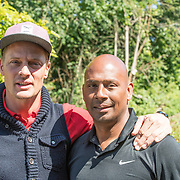 NLD/Brielle/20190614 - Bekend Nederland golft voor Afrika, Winston Post en Aron Winter