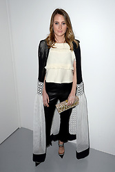 Rosie Fortescue attending the Bora Aksu Autumn/Winter 2017 London Fashion Week show at the BFC Show Space, 180 Strand, London. Photo credit should read: Doug Peters/ EMPICS Entertainment