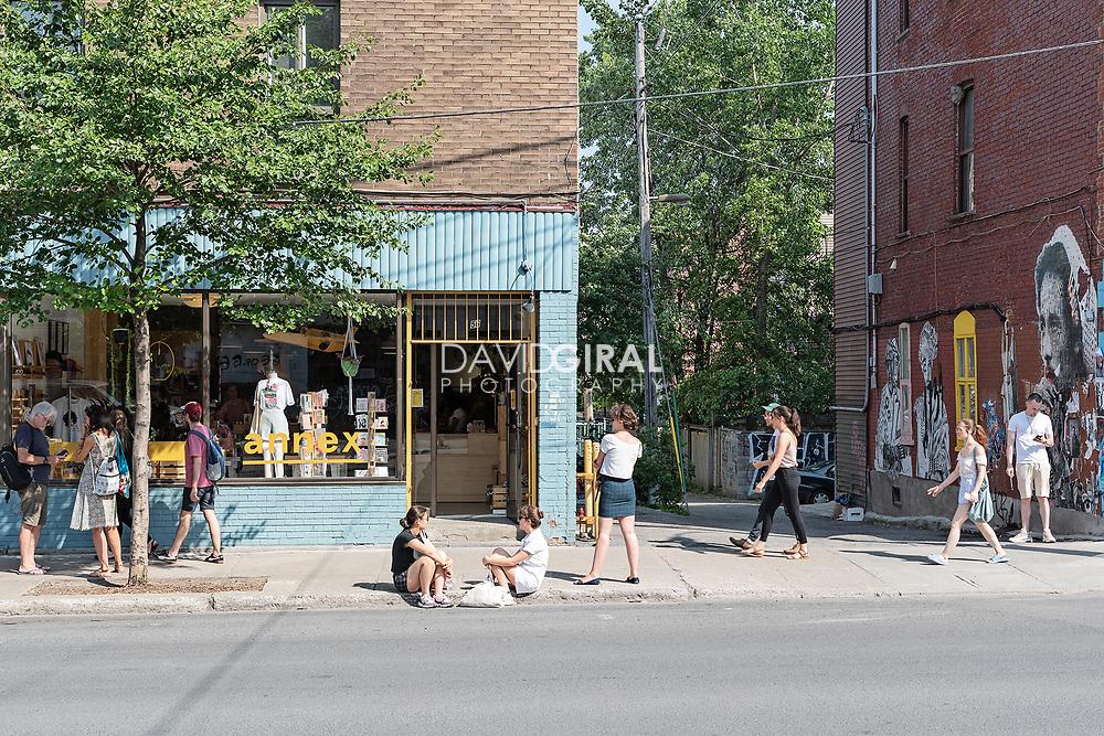St-Viateur Street - Mile End - Montreal