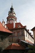 Czech Republic, South Bohemian Region, Cesky Krumlov, Krumlov Castle