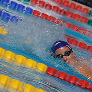 Joanne Jackson, Great Britain, in action in the 200m Freestyle heats at the World Swimming Championships in Rome on Tuesday, July 28, 2009. Photo Tim Clayton.
