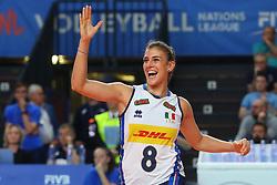 ALESSIA ORRO (ITALIA)<br /> ITALIA - REPUBBLICA DOMINICANA<br /> PALLAVOLO VNL VOLLEY FEMMINILE 2019<br /> CONEGLIANO (TV) 28-05-2019<br /> FOTO FILIPPO RUBIN