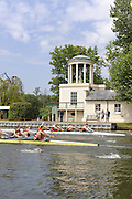 Henley, Great Britain. Heat of the Brittannia Challenge Cup. Bucks Glasgow RC vs Thames RC at 2009 Henley Royal Regatta.  Wednesday 01/07/2009 [Mandatory Credit. Peter Spurrier/Intersport Images] . HRR.