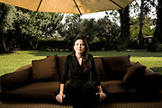 Ofra Strauss, Chair of the Strauss Group, Israel's second largest food company.  Photographed at her home in Tel Aviv, Israel, by Brian Smale, for Fortune Magazine's list of the world's most powerful women.