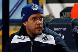 Bristol Rovers manager Darrell Clarke - Mandatory by-line: Matt McNulty/JMP - 28/02/2017 - FOOTBALL - Macron Stadium - Bolton, England - Bolton Wanderers v Bristol Rovers - Sky Bet League One