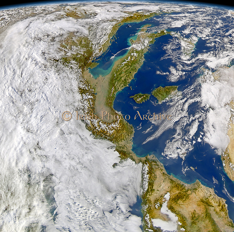 An intense winter storm raced across the Mediterranean on November 13 and 14, 2004. Gale-force winds sank three ships off Algiers, Algeria, and heavy rain drenched the country