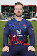 Lancashires Steven Croft during the Lancashire County Cricket Club at the Emirates, Old Trafford, Manchester, United Kingdom on 3 April 2019.