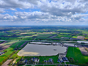 Nederland, Drenthe, Koekange, 07-05-2021; Zandwinning Echten, zandwinplas.<br /> <br /> luchtfoto (toeslag op standard tarieven);<br /> aerial photo (additional fee required)<br /> copyright © 2021 foto/photo Siebe Swart