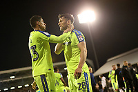 LONDON, ENGLAND - MAY 14:LONDON, ENGLAND - MAY 14:Derby's Curtis Davies, consoles teamate, david Nugent at the end of the match