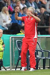 16.08.2014, RewirPower-Stadion, Bochum, GER, DFB Pokal, VfL Bochum vs VfB Stuttgart, 1. Runde, im Bild Trainer Armin Veh (VfB Stuttgart) // during the 1st round match of German DFB Pokal between VfL Bochum and VfB Stuttgart at the RewirPower-Stadion in Bochum, Germany on 2014/08/16. EXPA Pictures © 2014, PhotoCredit: EXPA/ Eibner-Pressefoto/ Schueler<br /> <br /> *****ATTENTION - OUT of GER*****