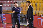 DESCRIZIONE : Roma LNP A2 2015-16 Acea Virtus Roma Assigeco Casalpusterlengo<br /> GIOCATORE : Alessandro Finelli<br /> CATEGORIA : allenatore coach pre game<br /> SQUADRA : Assigeco Casalpusterlengo<br /> EVENTO : Campionato LNP A2 2015-2016<br /> GARA : Acea Virtus Roma Assigeco Casalpusterlengo<br /> DATA : 01/11/2015<br /> SPORT : Pallacanestro <br /> AUTORE : Agenzia Ciamillo-Castoria/G.Masi<br /> Galleria : LNP A2 2015-2016<br /> Fotonotizia : Roma LNP A2 2015-16 Acea Virtus Roma Assigeco Casalpusterlengo